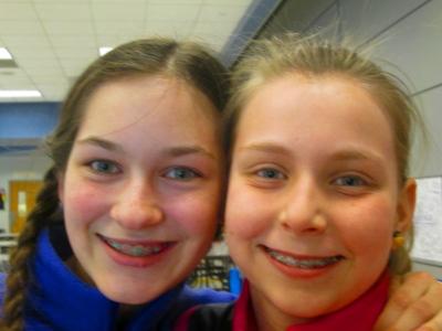 Fluvanna Emily and Alyana